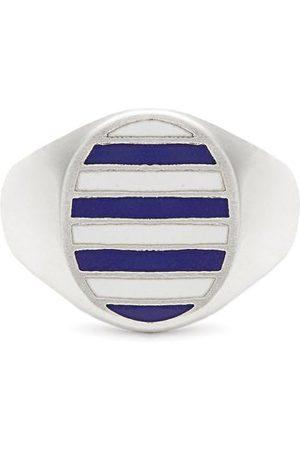 Jessica Biales Women Rings - Enamel & Sterling-silver Ring - Womens