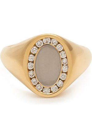 Jessica Biales Diamond & 18kt Ring - Womens