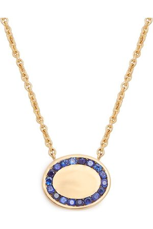 Jessica Biales Candy Sapphire & Yellow Gold Necklace - Womens