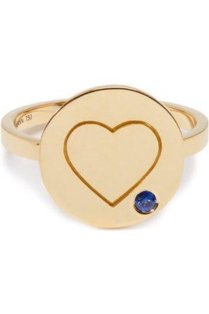 Aurélie Bidermann Heart Sapphire & Ring - Womens