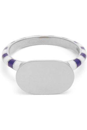 Jessica Biales Women Rings - Enamel & Sterling Silver Ring - Womens