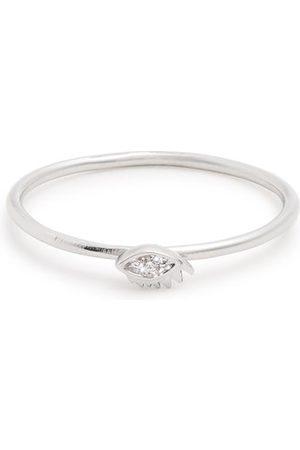 DELFINA DELETTREZ Diamond & White-gold Ring - Womens