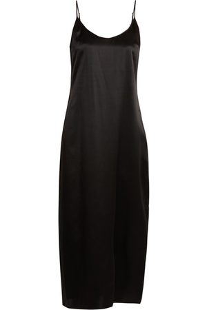 La Perla Lunga Scoop Neck Silk Satin Slip - Womens