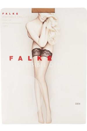 Falke Invisible Deluxe 8 Hold-ups - Womens - Nude