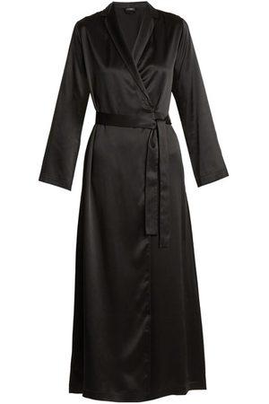 La Perla Women Bathrobes - Silk-satin Robe - Womens