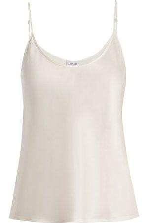 La Perla Silk-satin Camisole - Womens - Ivory