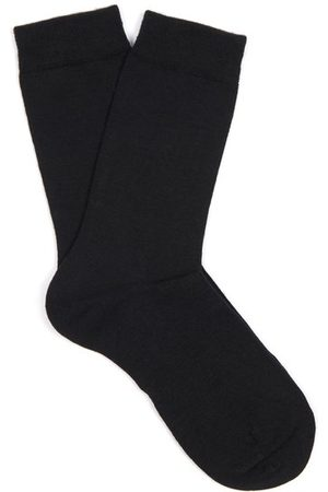 Falke Soft Wool And Cotton-blend Socks - Womens
