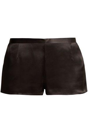 La Perla Silk-satin Pyjama Shorts - Womens