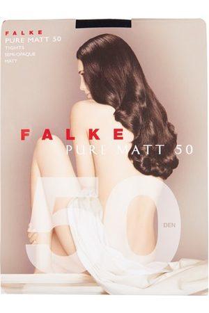 Falke Women Stockings - Pure Matte 50 Denier Tights - Womens - Navy