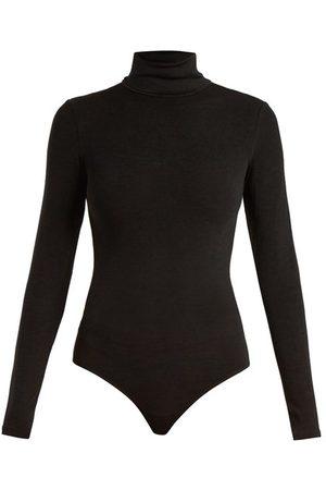 Wolford Women Bodies - Colorado Jersey Thong Bodysuit - Womens