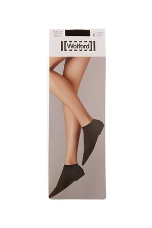 Wolford Cotton-blend Ankle Socks - Womens