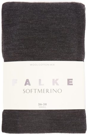 Falke Soft Merino Tights - Womens - Dark Grey