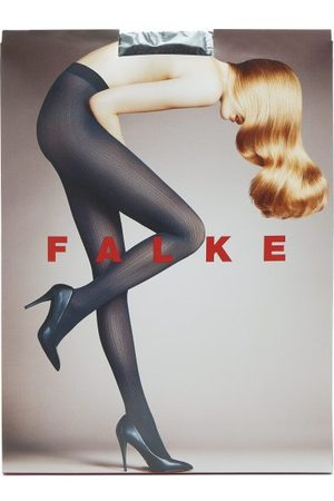 Women Stockings - Falke - Ribbed 50 Denier Tights - Womens
