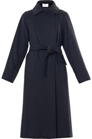 Max Mara Manuela Coat - Womens - Navy