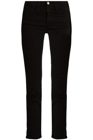 Frame Women High Waisted - Le High High-rise Cropped Straight-leg Jeans - Womens