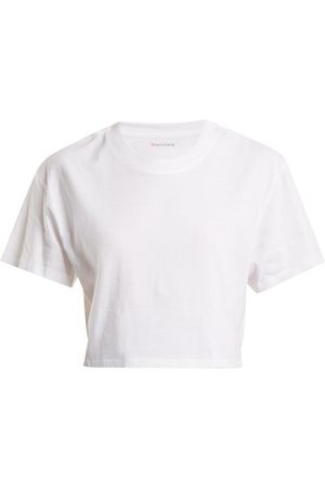x karla The Crop Cotton-jersey T-shirt - Womens