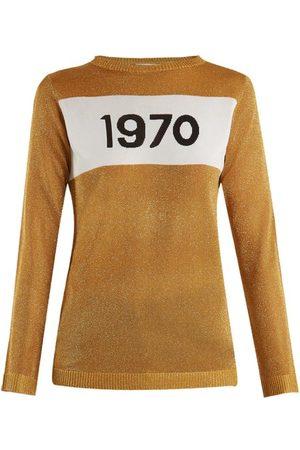BELLA FREUD 1970 Intarsia Knit Sweater - Womens
