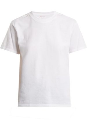 x karla The Crew Cotton-jersey Cropped T-shirt - Womens
