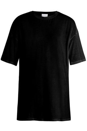 Raey Long-line Cotton-jersey T-shirt - Womens