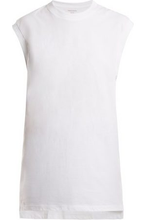 x karla The Sleeveless Cotton-jersey Tank Top - Womens