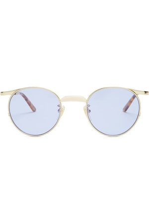 Gucci Round Frame Sunglasses - Mens