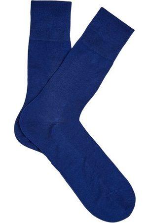 Falke Men Socks - Tiago City Cotton-blend Socks - Mens - Dark