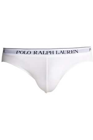Polo Ralph Lauren Men Briefs - Pack Of 3 Logo-embroidered Cotton-blend Briefs - Mens