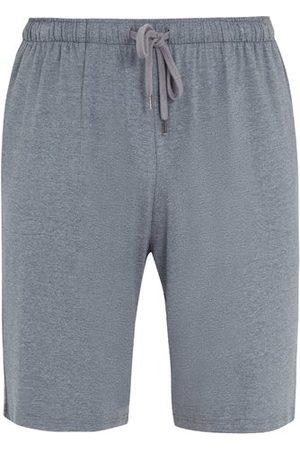DEREK ROSE Marlowe Jersey Lounge Shorts - Mens - Grey