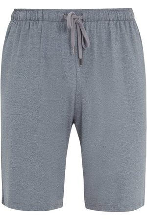 DEREK ROSE Men Sweats - Marlowe Jersey Lounge Shorts - Mens - Grey