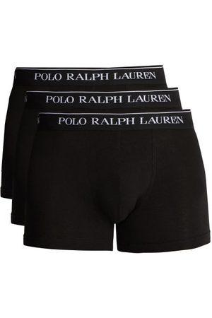 Ralph Lauren Set Of Three Cotton Blend Boxer Briefs - Mens