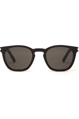 Saint Laurent Round Acetate Sunglasses - Mens