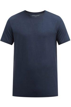 DEREK ROSE Basel Jersey T-shirt - Mens - Navy