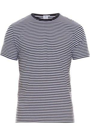 Sunspel Striped Cotton-jersey T-shirt - Mens - Stripe