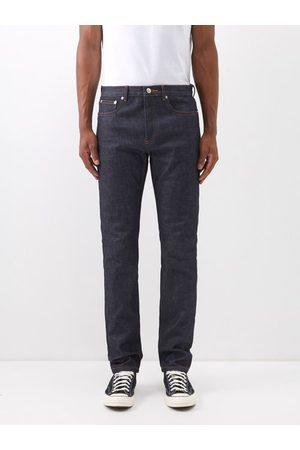 A.P.C. Men Skinny - Petit New Standard Slim-leg Jeans - Mens - Dark Indigo