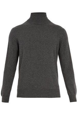 Raey Men Turtlenecks - Roll-neck Cashmere Sweater - Mens - Charcoal