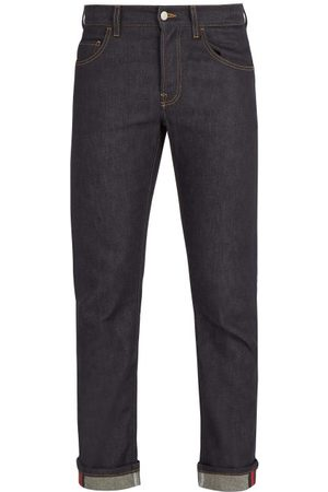Gucci Mid Rise Straight Leg Denim Jeans - Mens