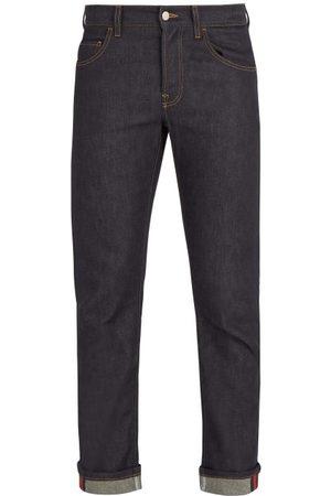 Gucci Mid-rise Straight-leg Denim Jeans - Mens