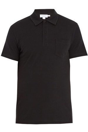 Sunspel Riviera Cotton Piqué Polo Shirt - Mens