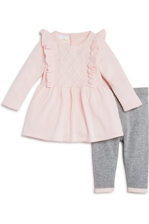 Bloomie's Sets - Girls' Ruffled Sweater Tunic & Knit Leggings Set, Baby - 100% Exclusive