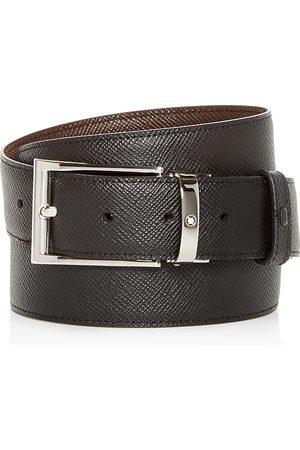 Mont Blanc Men's Contemporary Reversible Leather Belt