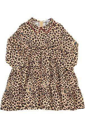 VIVETTA Girls Printed Dresses - Leo Printed Light Viscose Flannel Dress