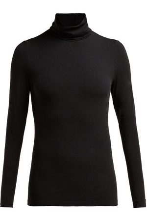 Wolford Roll-neck Jersey Top - Womens