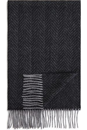 Bloomingdale's Cashmere Herringbone Scarf - 100% Exclusive