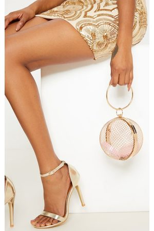 PRETTYLITTLETHING Caged Sphere Clutch