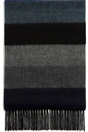 Bloomingdale's Block Stripe Cashmere Scarf - 100% Exclusive