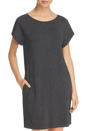 Hanro Natural Elegance Short Sleeve Gown