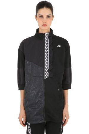Nike Women Sweatshirts - Nsw Taped Packable Patchwork Sweatshirt