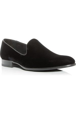 To Boot Men Loafers - Men's Bolton Velvet Smoking Slippers