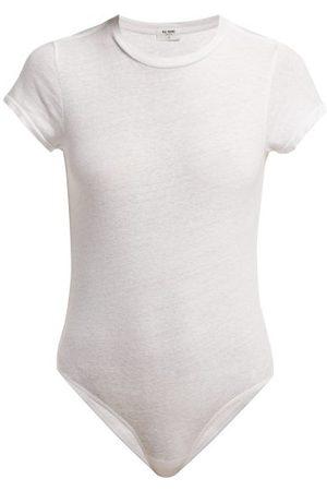 RE/DONE 1960s Cotton-mélange Bodysuit - Womens