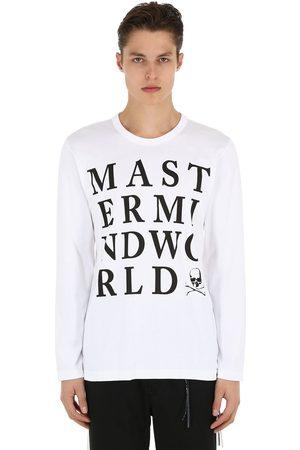 MASTERMIND Logo Print Jersey Long Sleeve T-shirt